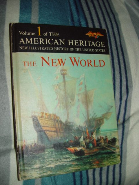 Primary image for Volume1 American Heritage The New World  1963 Hardcover