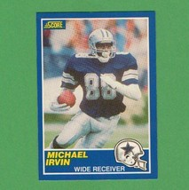 1989 Score Michael Irvin Rookie Card - $3.99
