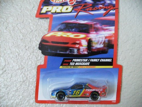 Hot Wheels Pro Racing 1997 Edition Ted Musgrave Family Chann