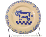 Ellis pottery cow plate thumb155 crop