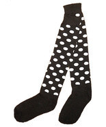 Poka Dots Knee Socks - $3.50