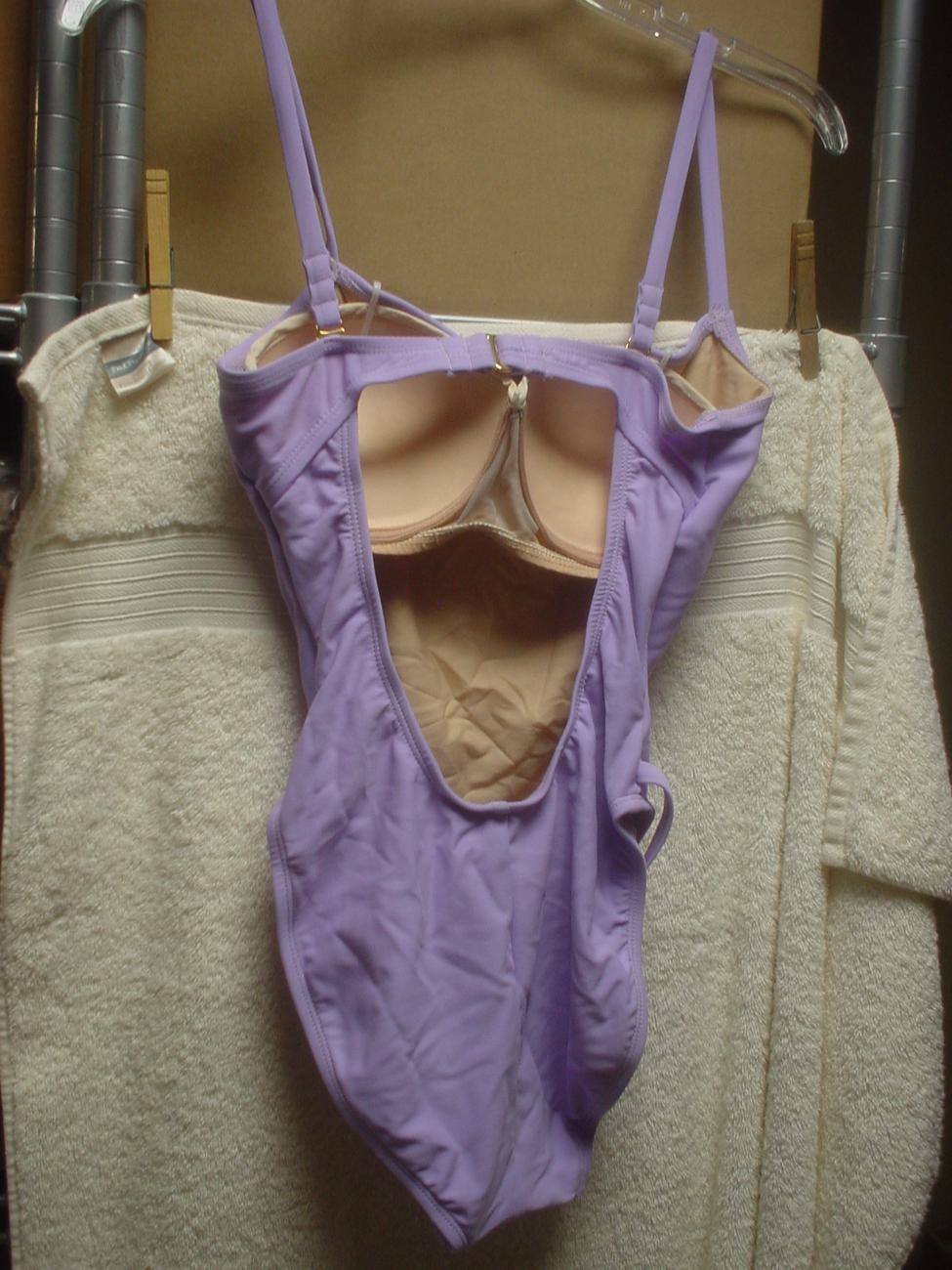 Victorias Secret Miracle One Piece 34A Violet NWOT