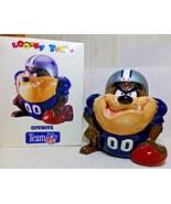 1994 Dallas Cowboys Tazmanian Devil Cookie Jar Canister Looney Tunes WB ... - $199.99