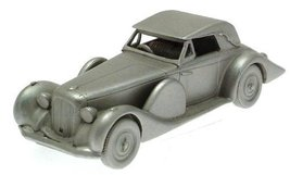 Danbury Mint authentic scale replica pewter car Lagonda V12 1939 - $38.21