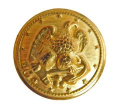 "Org Ralph Lauren gold color Metal Eagle Replacement Main Front button 1"" - $6.88"