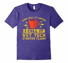 New Shirts - Coffee Vet Tech Starter Fluid T-Shirt Men - $19.95+