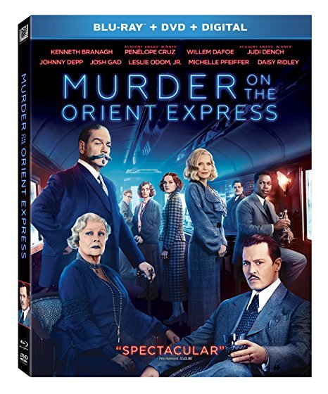 Murder On The Orient Express [Blu-ray+DVD+Digital, 2018]