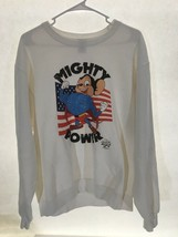 Radio Days Mighty Mouse 1985 Sweatshirt Men's Size M Cotton Polyester Blend Rare - $185.25