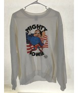 Radio Days Mighty Mouse 1985 Sweatshirt Men's Size M Cotton Polyester Bl... - $185.25