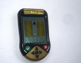 DEAL OR NO DEAL  ELECTRONIC HAND HELD  GAME - $20.00