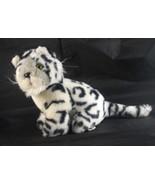 Sugar Loaf White & Black Tiger Cub Plush Toy - $9.99