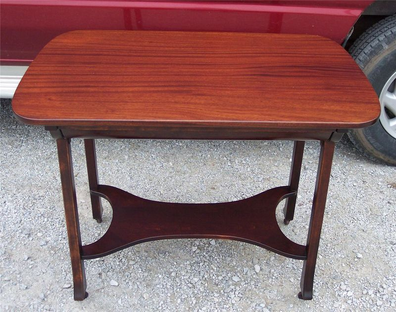 Primary image for Solid Ribbon Mahogany Desk with Drawer