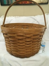 Very RARE Longaberger 2006 Tour With Me Street Basket - It's HUGE! 26'' Wide - $961.55