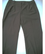 WOMEN ATTENTION BROWN CAREER PANTS SZ 16 - $5.99