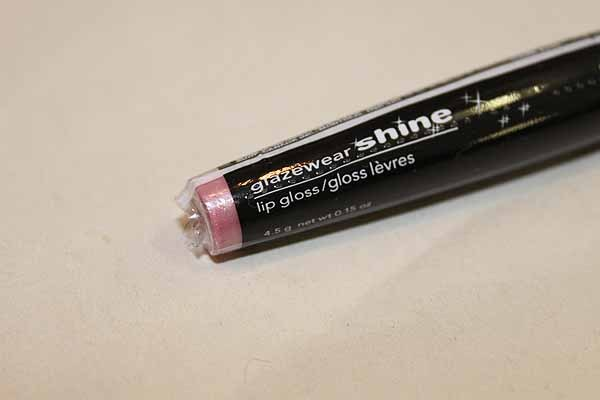 Avon Glazeware Shine Lip Gloss G200 Iced Pink Rose Glace