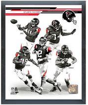 """2013 Atlanta Falcons - 11"""" x 14""""Team Composite Photo in a Glassless Spor... - $633,98 MXN"""