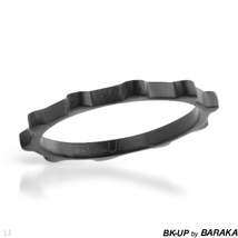BK-UP BY BARAKA Made in Italy Brand New Ring Made of Stainless steel- Si... - $24.99