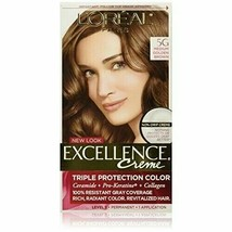 L'oreal Excellence Creme - 5G - Medium Golden Brown - $14.99