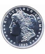 1893-CC  MORGAN  Silver  BU exact Replica  1REFCO - $65.88