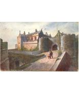 Stirling Castle Tuck Oillette 1906 Vintage Post Card  - $5.00