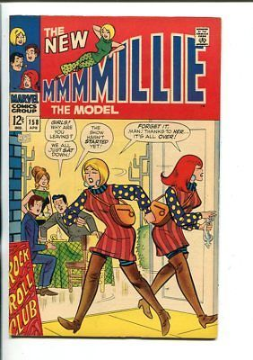 MILLIE THE MODEL-#158-ROCK 'N' ROLL-FASHION PAGE-vf