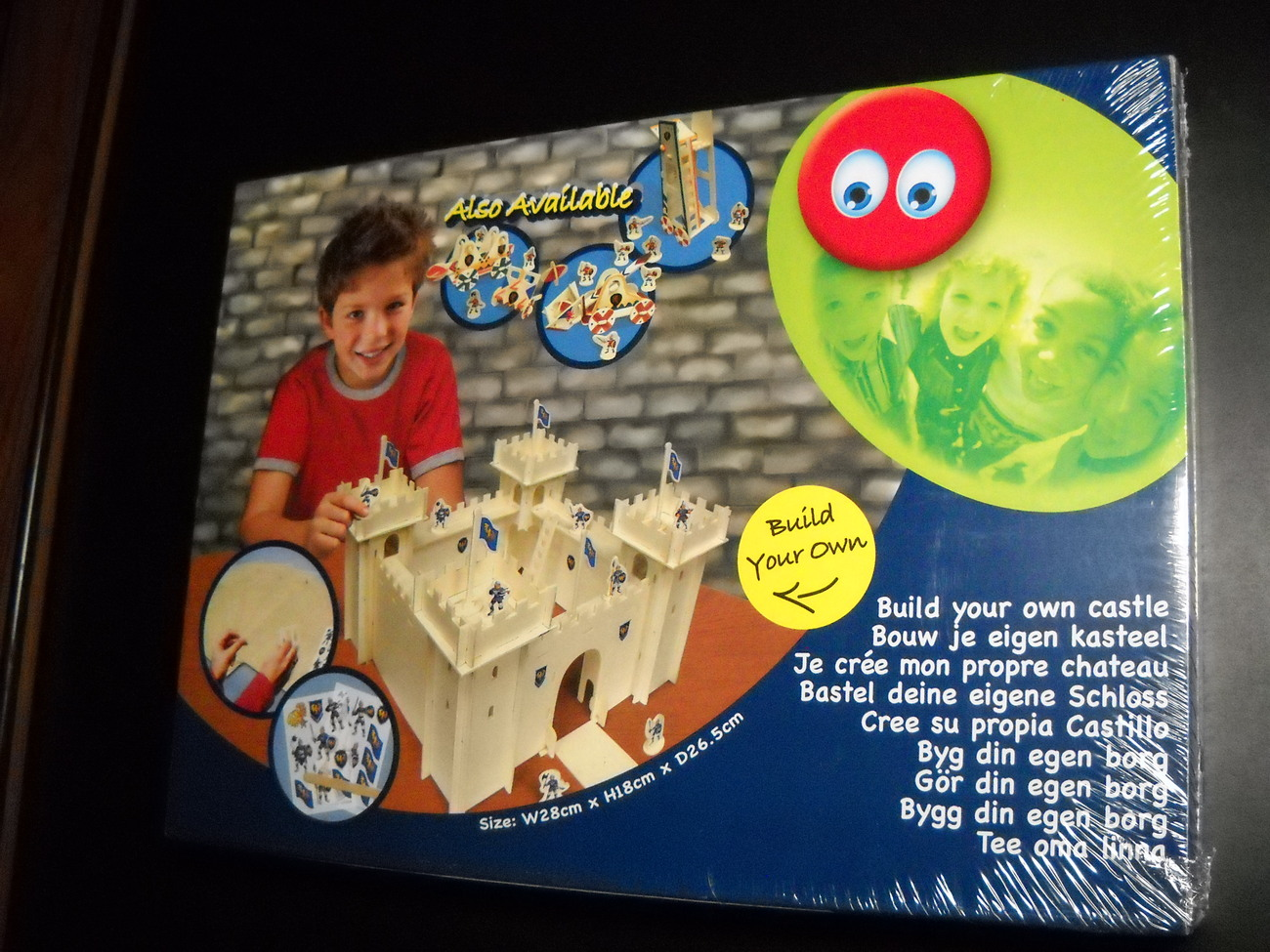 Jigsaw puzzle build your own castle netherlands sealed 01