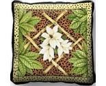 Bamboo animal skin pillow 17 inch thumb155 crop