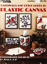 FREEBIE... CARDINALS AND CHICKADEES IN PLASTIC CANVAS PLEASE SEE DETAILS... - $0.00