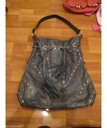 BULGA Large Studded Butterfly Hanbag Tote  - $195.00