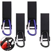 Stroller Hook, SourceTon Set of 4 Packs Multi-Purpose Stroller Hooks, D Shape Sp