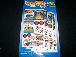 HOT WHEELS PARTY FAVOR PACKAGE SET OF 5 PACKS - $8.25