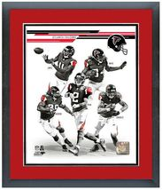 "2013 Atlanta Falcons - 11"" x 14"" Framed & Matted Team Composite Photo - $888,58 MXN"