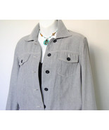 Tommy Hilfiger Cotton Jacket Western Style Womens Size 10 - $22.00