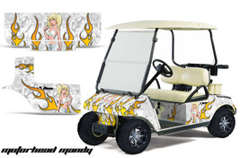 Graphics Kit Decal SxS Sticker Wrap For Club Car Golf Cart 1983-2014 MOT... - $297.95