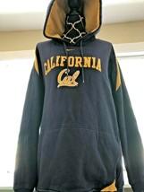 Men's clothiing Nike Team California Cal Golden Bears hoodie jacket blue... - $23.36