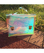 2017 Tote Bag Hologram Handbags Women PVC Clear Transparent Bags - $28.95