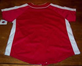 WOMEN'S MISSES PHILADELPHIA PHILLIES MLB BASEBALL JERSEY LARGE NEW w/ TAG image 6