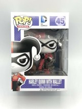 Funko Pop! Harley Quinn With Mallet Pop! Figure - Slight Box Damage - $13.85
