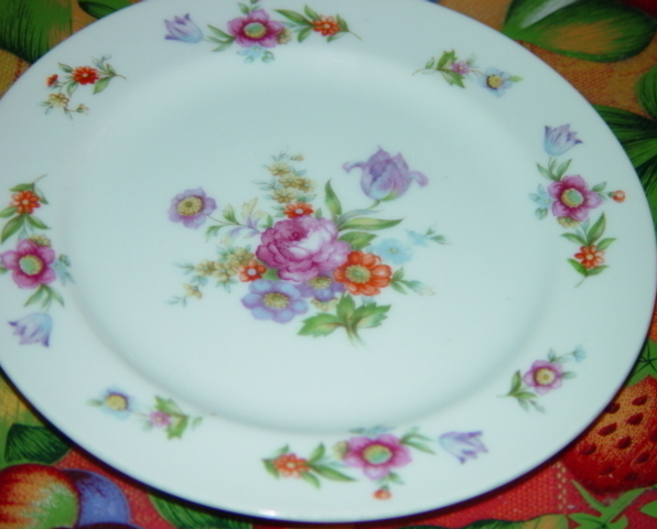 "SANGO CHINA DINNER PLATE 10"""