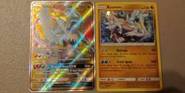 White Kyurem GX SM141 + Kyurem SM142 Promos from Dragon Majesty Collecti... - $9.99