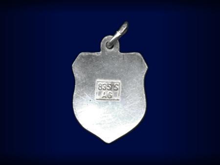 Vintage travel shield charm, Svaneke, Bornholm, Denmark