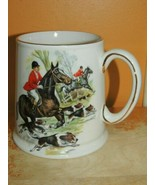 "James Kent Ltd Mug 4.5"" Staffordshire England Old Foley Fox Hunt horse d... - $11.69"