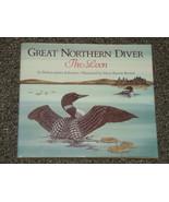 Great Northern Diver The Loon Barbara Juster Esbensen HB DJ  - $2.50
