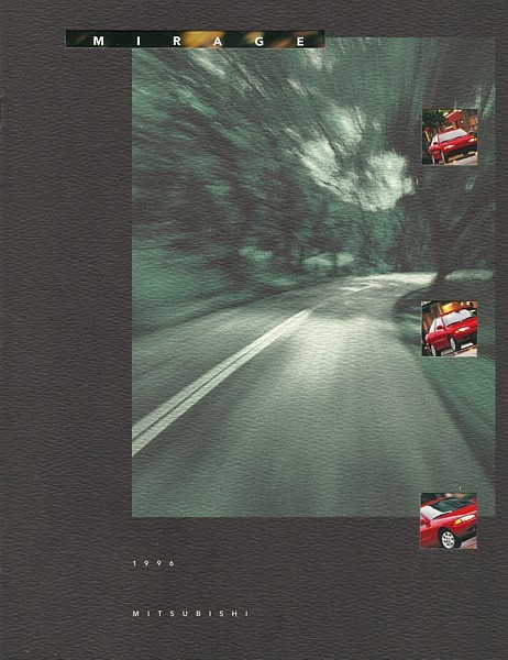 Primary image for 1996 Mitsubishi MIRAGE sales brochure catalog US 96 S LS