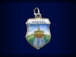 Vintage travel shield charm, Kassel, Germany - $29.95