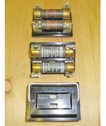 CEB 60 AMP MAX. 2 POLE PLUG-IN FUSE HOLDER (RB-26) ~ RARE! - $59.99