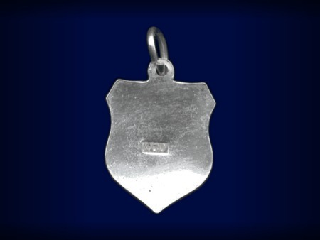 Vintage travel shield charm, Rothenburg ob der Tauber, Germany