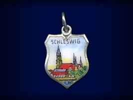 Vintage travel shield charm, Schleswig, Germany - $29.95