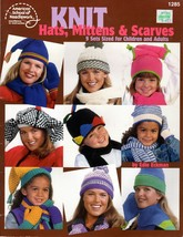 Knit Hats, Mittens & Scarves 9 Sets Sized for Children & Adults American... - $4.95