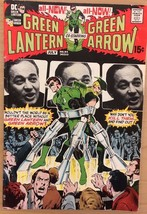 GREEN LANTERN GREEN ARROW #84 (1971) DC Comics Adams & Wrightson artwork... - $24.74